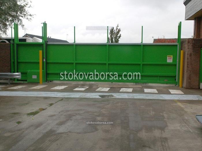 Изработка на плъзгаща портална врата