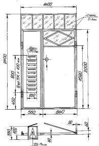 Метална входна врата с Модул ПК за кооперация