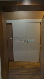 Интериорни врати с лаково покритие с размери на клиента