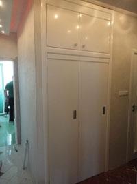 Интериорна врата тип Хармоника, гланцирана