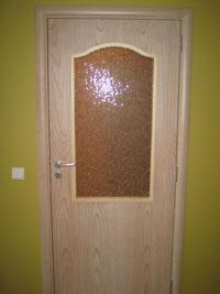 Интериорна остъклена врата