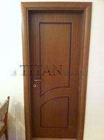 Врата от естествен фурнир - поръчкова