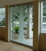 врата стъклена по поръчка 1264-3577