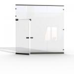 врата стъклена по поръчка 1407-3577
