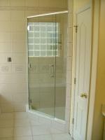 стъклена врата по поръчка 1481-3577