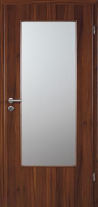 Интериорна врата CPL - врата + каса с ивици ПДЧ