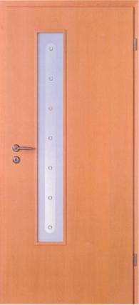 Интериорна врата Декор с остъкление