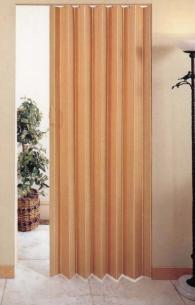 Врата тип хармоника Модел АКОРД/ Светъл дъб
