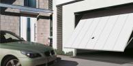 Гаражна врата БЕРИ тип летящо крило