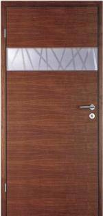 Стилна дървена интериорна врата