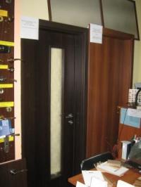 Луксозна българска врата цвят орех
