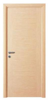 Модерна интериорна врата цвят избелен дъб