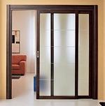 puertas con puerta corredera paralela