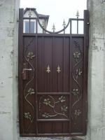 портална врата от ковано желязо 2321-3235