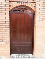 портална врата от ковано желязо 2327-3235
