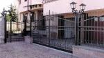 Изработване на решетъчни портални врати от ковано желязо