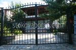 изработка на портална врата от ковано желязо