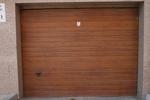 автоматична секционна гаражна врата