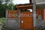 еднокрилни дървени порти