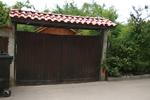 дървени порти по поръчка