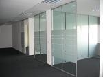 стъклени врати тип подвижни стени