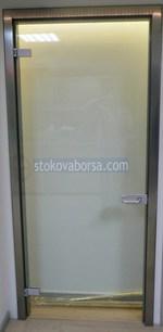 стеклянные двери с одним крылом настройка