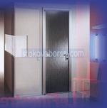 из стекла дверей с одним крылом, пользовательские стеклянные двери с одним крылом