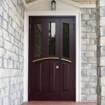 Метална врата за вила по клиентска заявка