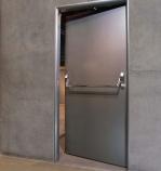 Метална врата за цехове по заявка на клиента