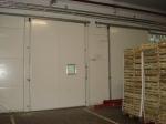 Метална врата за цех по поръчка