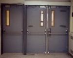 Метална врата за цех по идея на клиента
