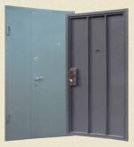 Здрава метална врата за цех