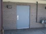 Метална врата за цехове по идея на клиента