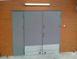 Здрави метални врати за цехове