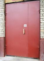 Метална врата за цехове по проект