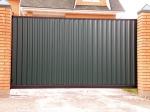 Метални врати за къщи на релса