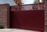 Метални врати за къщи - плъзгащи