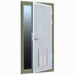 Здрава метална врата за абонатни станции и трафопостове
