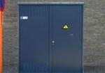 Метална врата за абонатни станции и трафопостове по клиентска заявка