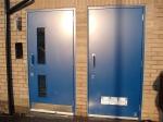 Метална врата за абонатна станция и трафопост по идея на клиента