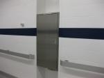 Метални врати за абонатна станция и трафопост по проект