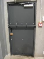 Метални врати за абонатни станции и трафопостове по заявка на клиента
