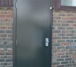 Метални врати за абонатна станция и трафопост