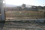 Плъзгащи портални врати от ковано желязо