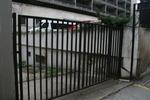 решетъчна метална порта