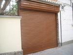 Метална плъзгаща врата по поръчка