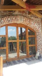 дървени плъзгащи врати