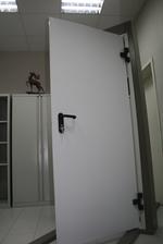 800x2150mm fuego puerta de metal de una sola hoja 800x2150mm fuego