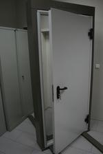 1100x2150mm fuego puerta de metal
