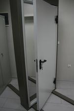 900x2050mm Двери противопожарные металла